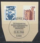 BRD 1347-1348 mit Ersttagssonderstempel