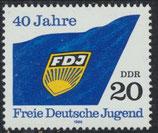 3002  postfrisch (DDR)