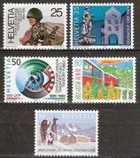 1385-1389 postfrisch (CH)
