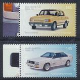 BRD 3367-3368 postfrisch mit Bogenrand links
