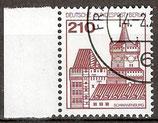 589 gestempelt Bogenrand links (BERL)