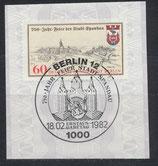 BERL  659   mit Ersttagsonderstempel