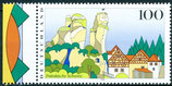 1807 postfrisch Bogenrand links (BRD)