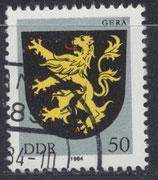 DDR 2857 philat. Stempel