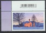3344 postfrisch mit Eckrand links oben (BRD)