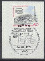 BERL 591  gestempelt mit Ersttagssonderstempel