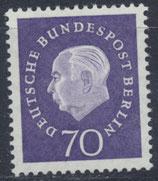 BERL 186 postfrisch