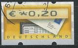 BRD-ATM 5 - 20 gestempelt