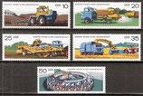 2236-2240 postfrisch (DDR)