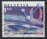 CH 1697 gestempelt