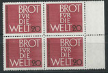 BRD 389 postfrisch mit Bogenrand rechts