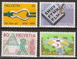 1376-1379 postfrisch (CH)