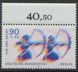 BERL 597 postfrisch mit Bogenrand oben
