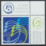 BRD 2044 postfrisch mit Bogenrand rechts oben