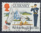 GB-GUE 260 gestempelt