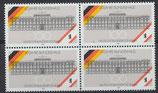 867 postfrisch Viererblock