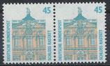 1468 postfrisch waagrechtes Paar (BRD)