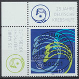 BRD 2044 gestempelt mit Eckrand links oben