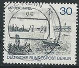 BERL 529 gestempelt