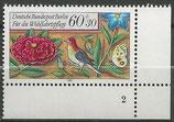 BERL 744  postfrisch  Eckrand rechts unten mit Formnummer 2