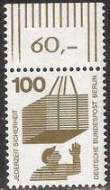 BERL 410 postfrisch Bogenrand oben (RWZ 60,00)