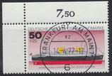 BRD 931 gestempelt mit Eckrand links oben