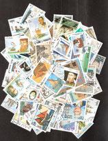 100 verschiedene Segelschiffe - Briefmarken