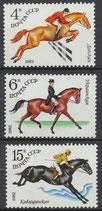 5148-5150 postfrisch (SU-Pferde)