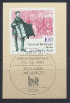 BERL 872 mit Ersttagssonderstempel