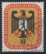 BERL 136 gestempelt