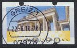 BRD-ATM 6 - 90 gestempelt