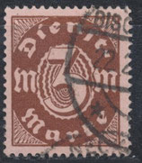 DR-DI 67 Dienstmarke gestempelt