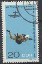 1195 philat. Stempel (DDR)