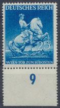 771 postfrisch mit Bogenrand unten (DR)