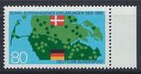 BRD 1241 postfrisch mit Bogenrand rechts
