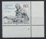 BERL 731 postfrisch mit Eckrand rechts unten