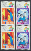 1829-1830 postfrisch senkrechte Paare (DDR)