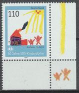 2062 postfrisch mit Eckrand rechts unten (BRD)