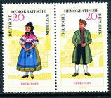 1078-1079 postfrisch Zusammendruck (DDR)