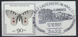 BRD 1517 gestempelt auf Briefstück
