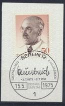 BERL 492 gestempelt mit Ersttagssonderstempel