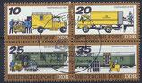DDR 2299-2303 philat. Stempel Viererblock (1)