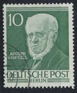 BERL 95 gestempelt