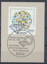 1911 mit Ersttagssonderstempel (BRD)