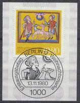 BERL 633 gestempelt mit Ersttagssonderstempel