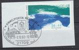 BRD 2278 auf Briefstück