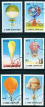 619-624 gestempelt (ST-Zeppelin-Ballone)