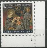 BERL 769   postfrisch Eckrand rechts unten mit Formnummer 2