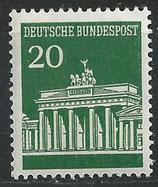 BRD 507 R postfrisch mit rückseitiger Zählnummer