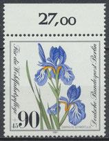 653 postfrisch Bogenrand oben (RWZ 27,00) (BERL)